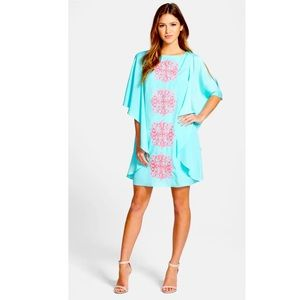 LILLY PULITZER Margurite Cold Shoulder Dress XS
